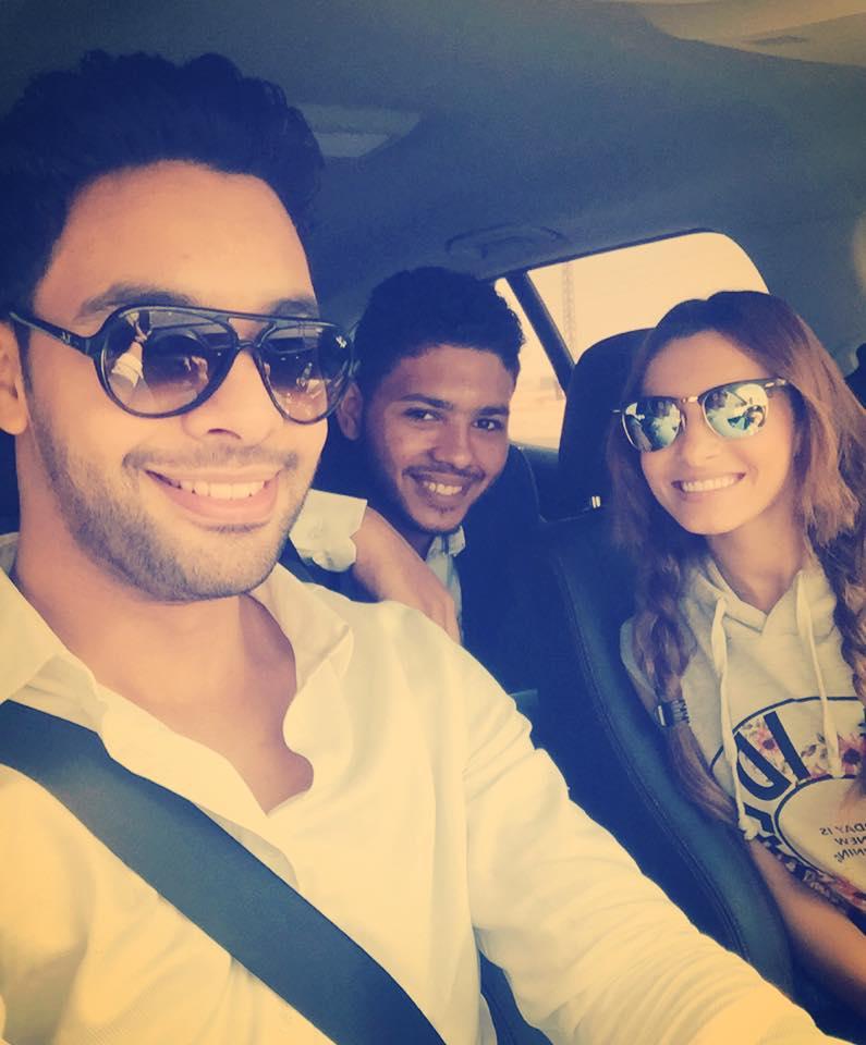 أحمد جمال مع كارمن سليمان و محمد شاهين