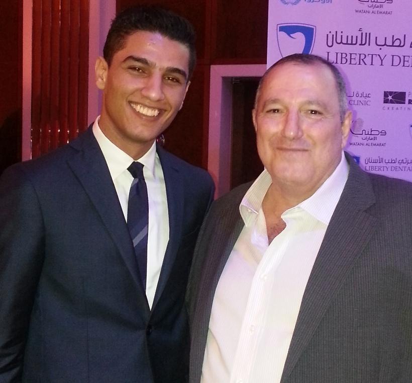 مع محمد عساف