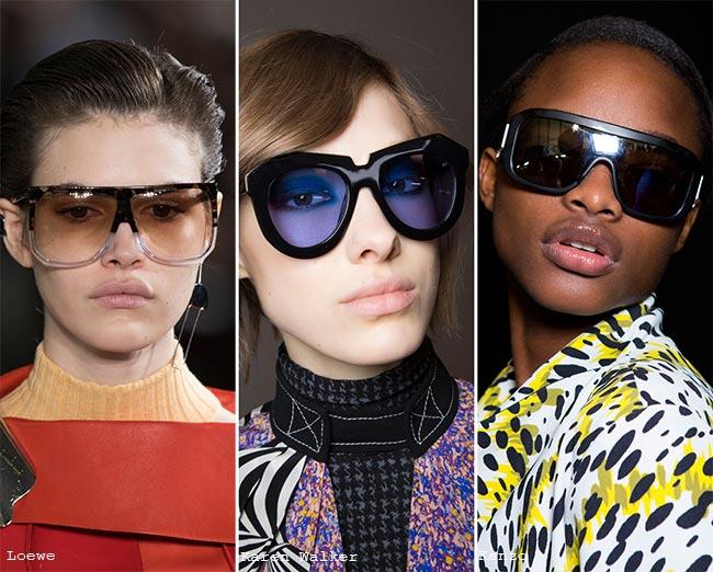 نظارات شمسية ذات أحجام كبيرة