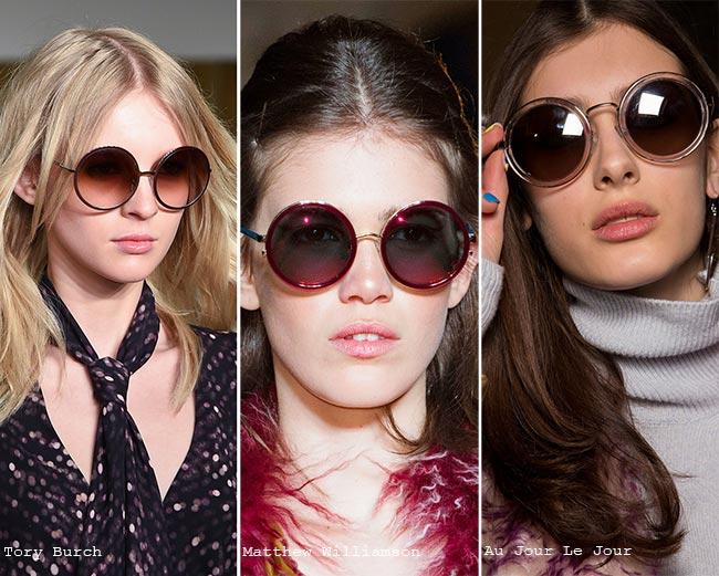 نظارات شمسية ذات إطارات سميكة
