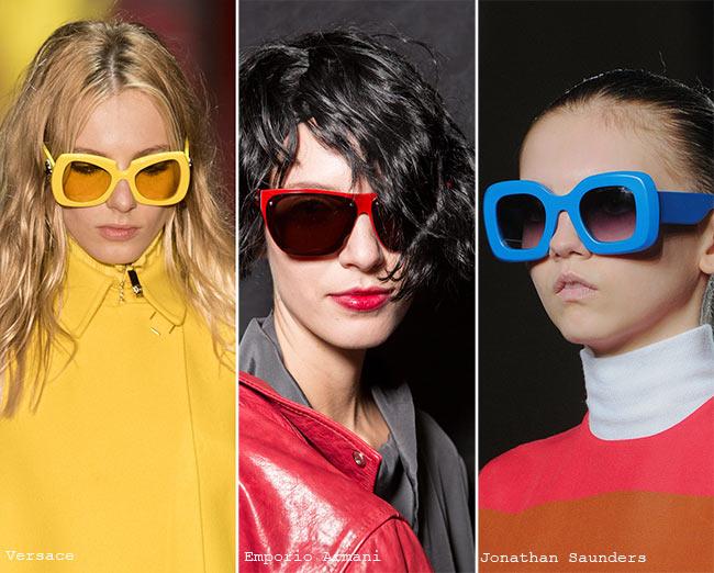 نظارات شمسية ذات إطارات