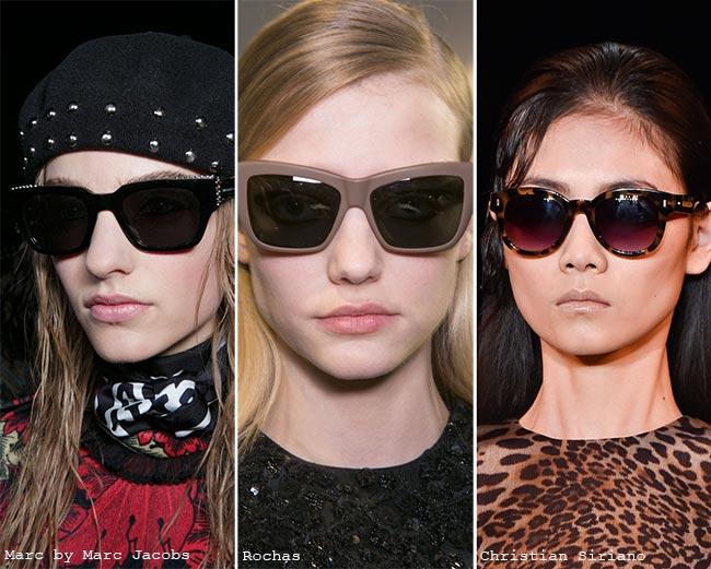 نظارات شمسية ذات عدسات داكنة