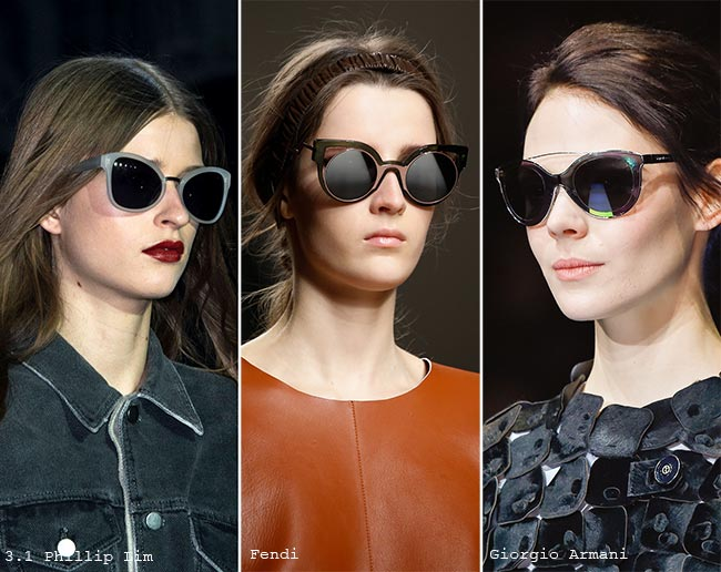 نظارات شمسية على شكل عين القطة