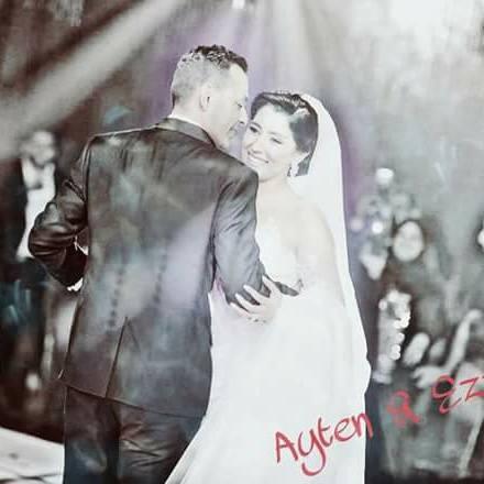 آيتن عامر بزوجها