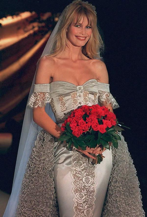 Claudia Schiffer for Valentino 1995