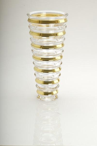 Falco Ring Vase Gold (Price 799 AED)