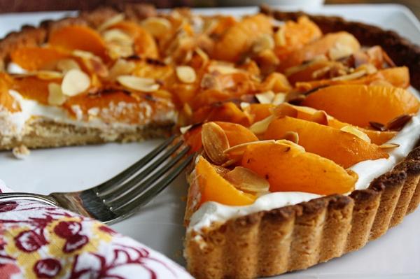 Tart apricot paste pastry Alpf