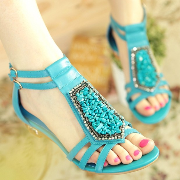 Top-Summer-Stylish-Sandals-Party-Shoes-2014-2015