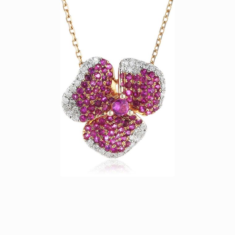 as29-pink-sapphire-flower-necklace