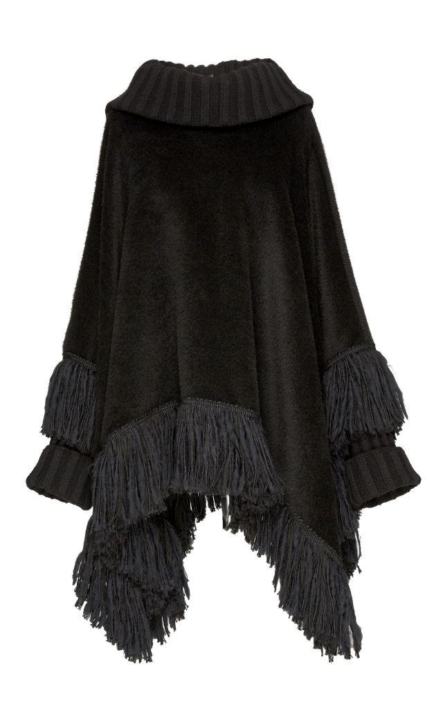 resized_Dolce & Gabbana Alpaca and Cashmere Cowl Neck Poncho $3,675