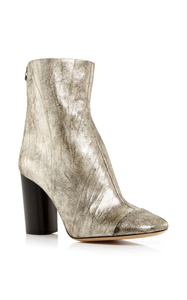 resized_Isabel Marant Silver Goat Suede Grover Ankle Boots $1,035