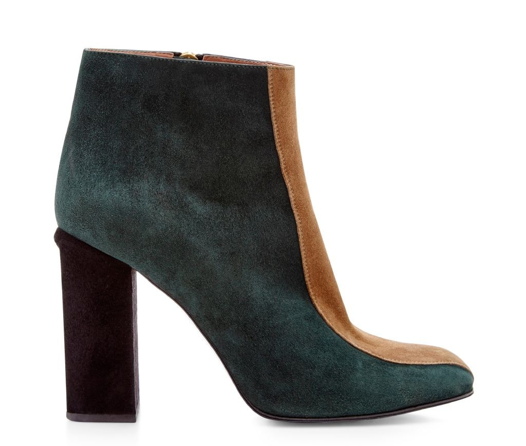 resized_Marni Teal and Beige Striped Goat Leather Boots $920