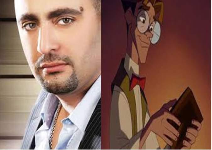 أحمد السقا في شخصية ميلو من فيلم الإمبراطورية المفقودة