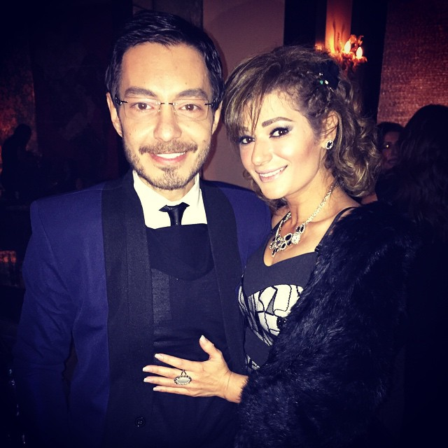 احمد زاهر وزوجته5