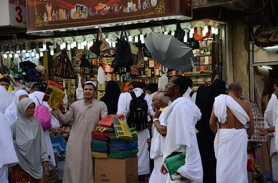 الحجاج ينعشون أسواق المدينة المنورة (2)
