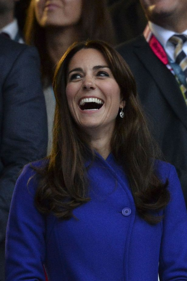 العائلة البريطانية في حفل افتتاح بطولة العالم للركبي  (11)