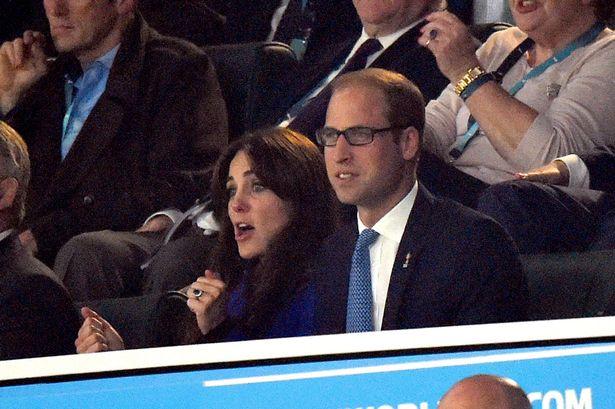 العائلة البريطانية في حفل افتتاح بطولة العالم للركبي  (9)