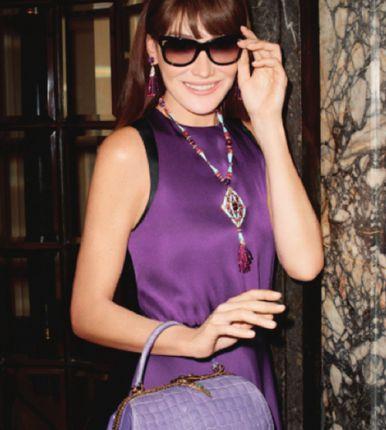 النجمة Carla Bruni