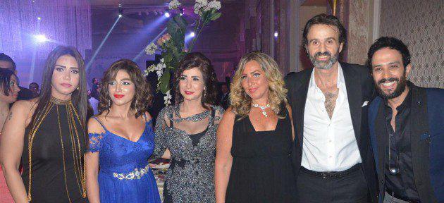 النجوم-في-حفل-زفاف-المخرج-محمد-النقلي-27-630x417