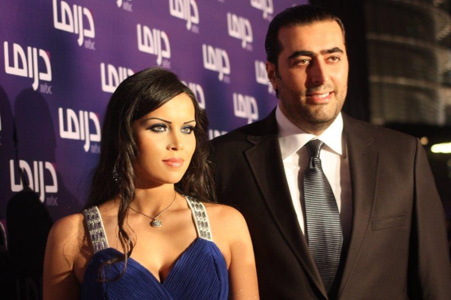 باسم ياخور وزوجته