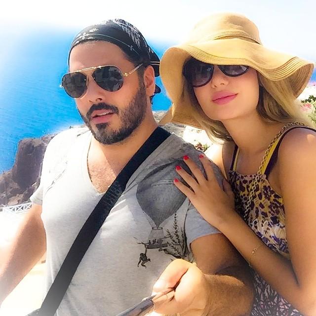 رامي عياش وزوجته داليدا1