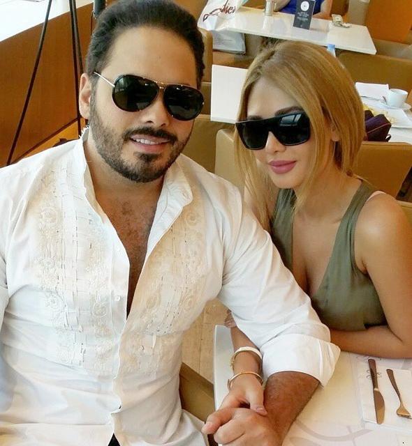 رامي عياش وزوجته داليدا2