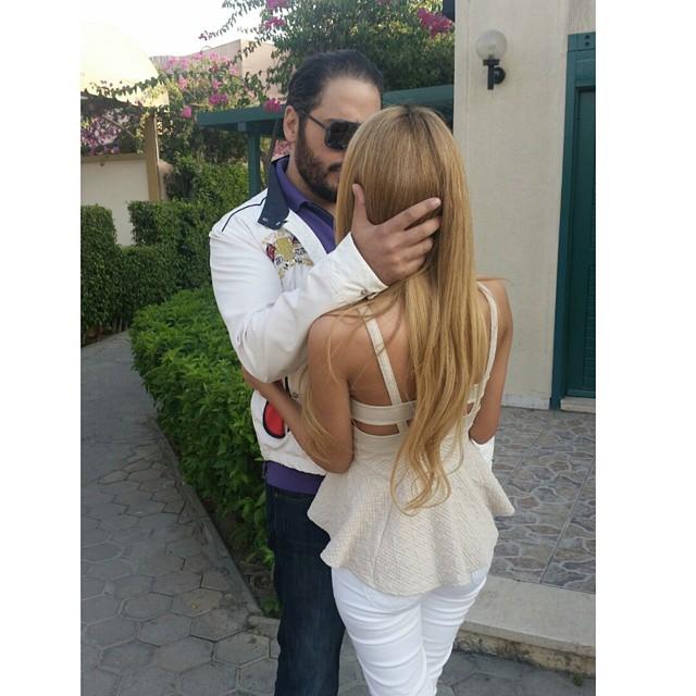 رامي عياش وزوجته داليدا3