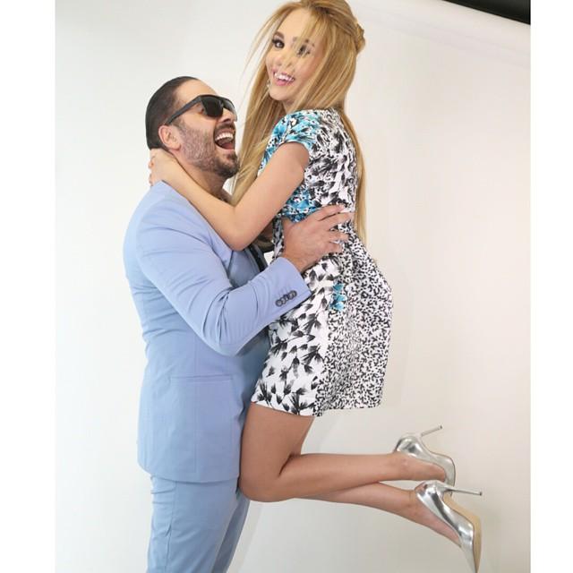رامي عياش وزوجته داليدا4