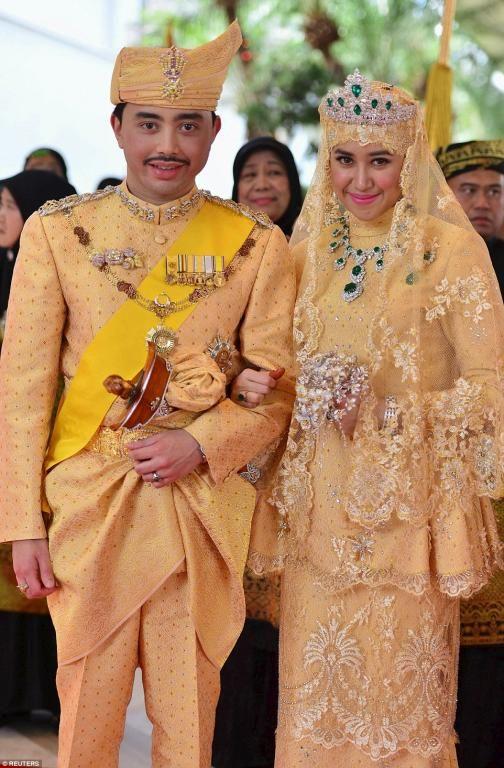 زفاف إبن سلطان بروناي