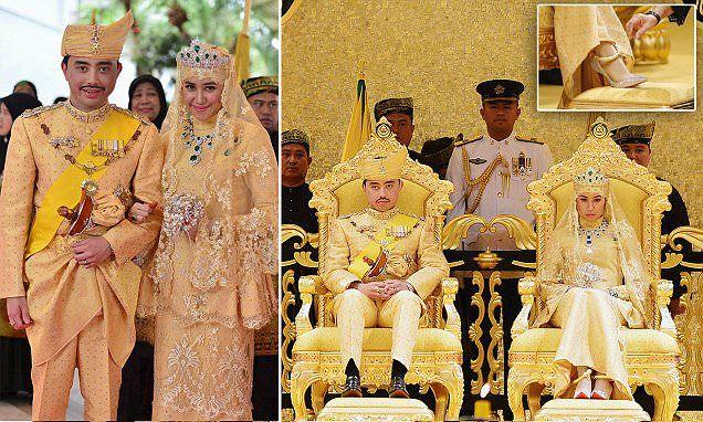 زفاف ابن سلطان بروناي