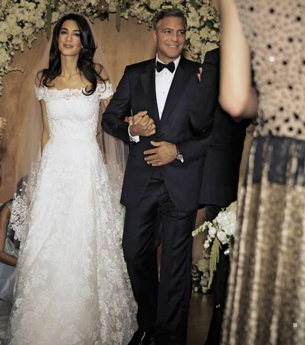 زفاف جورج كلوني وأمل علم الدين5