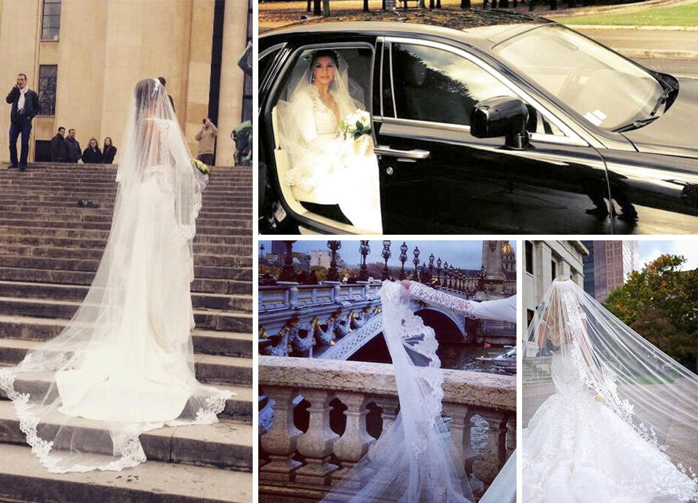 زفاف لاميتا فرنجية..