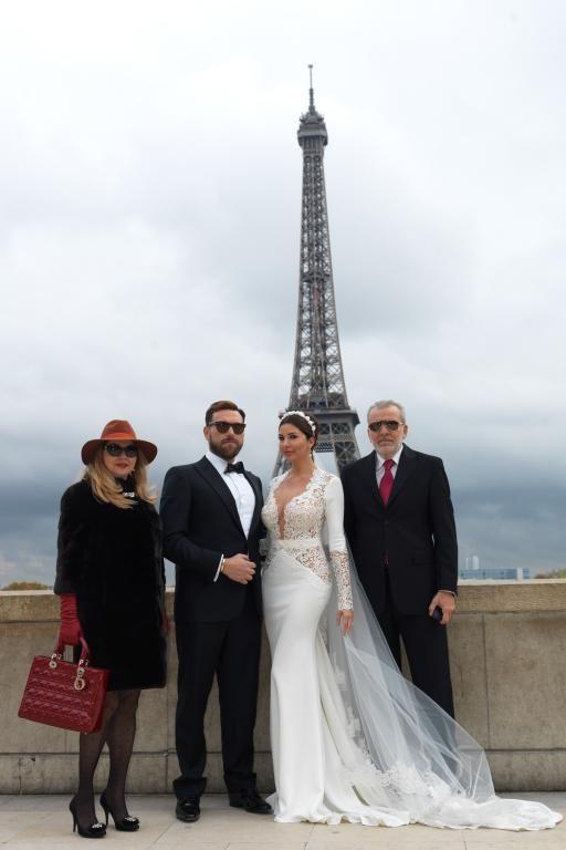 زفاف لاميتا فرنجية.