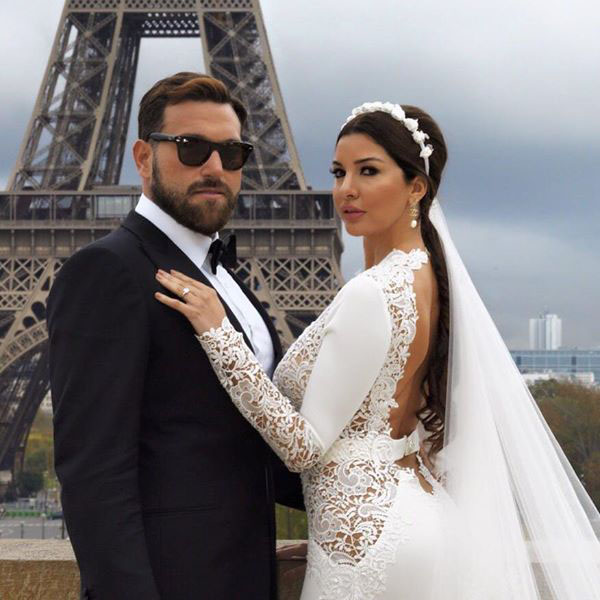 زفاف لاميتا فرنجية