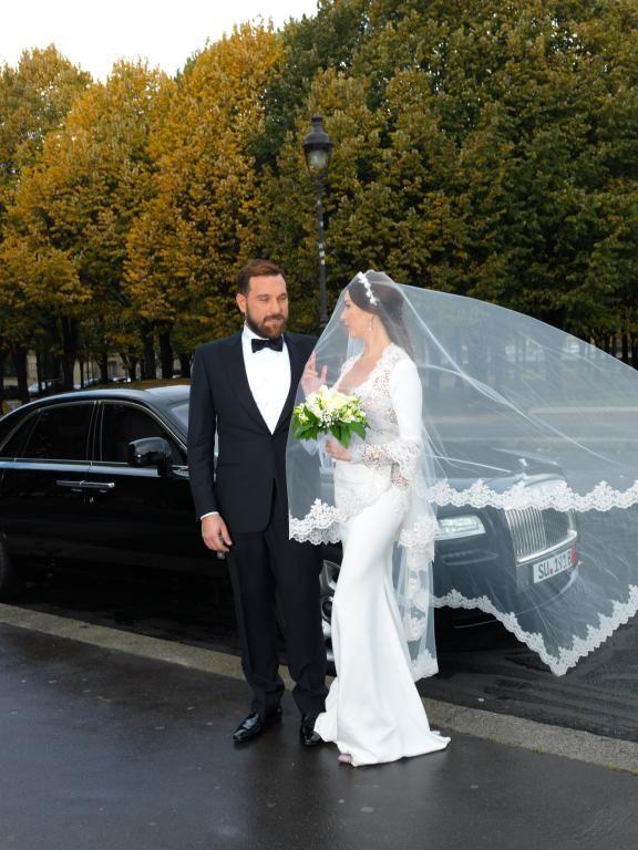 زفاف لاميتا فرنجية1