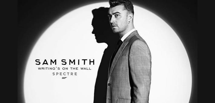 سام سميث على غلاف أغنية فيلم Spectre