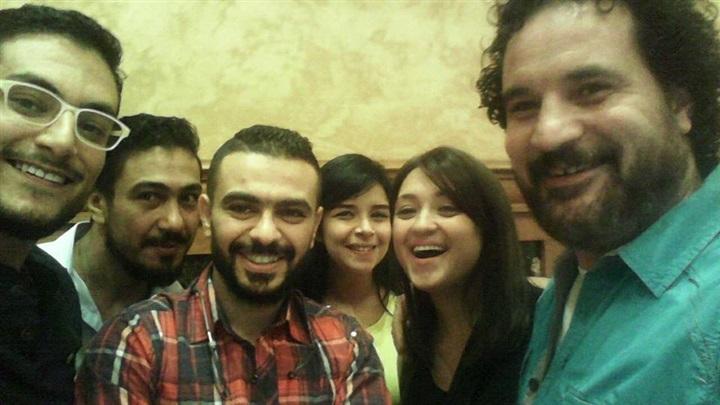 كريم الحسيني ومروة عبدالمنعم