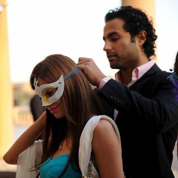 كريم فهمي وزوجته (1)