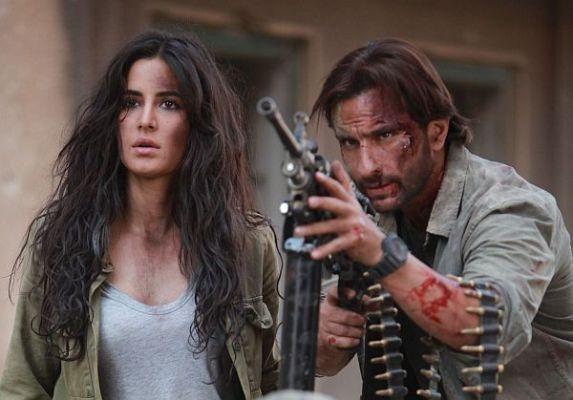 مشهد من فيلم فانتوم لـ كاترينا كيف وسيف علي خان