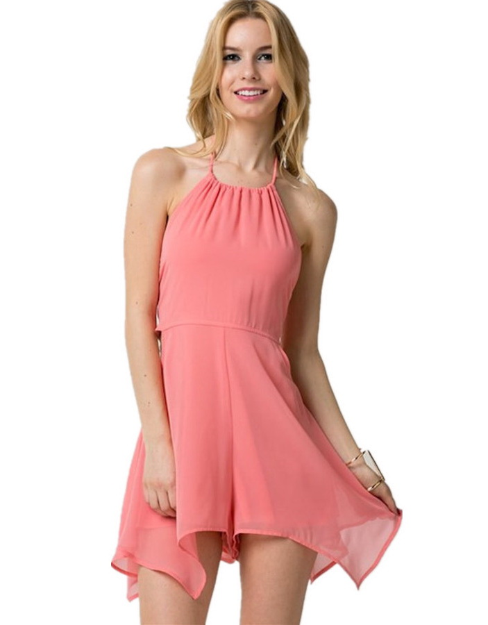 2015-Hot-Summe-Fashion-Ladies-Pink-Sleeveless-Halter-Backless-Chiffon-Shorts-Sexy-Hollow-Out-Casual-Short
