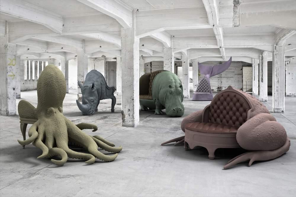 Animal Chairs Loft
