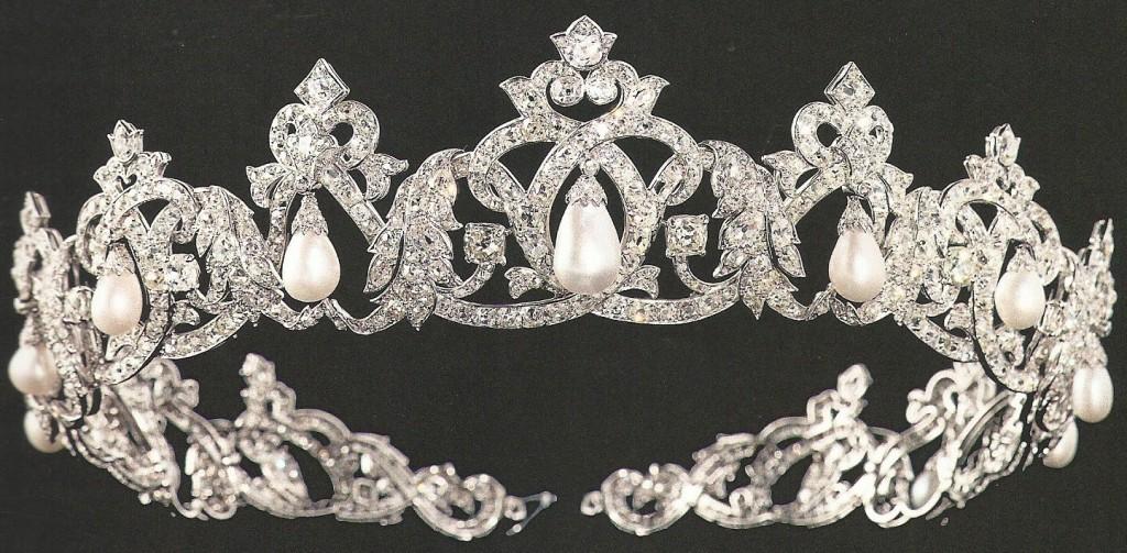 Cartier Pearl Drop Tiara