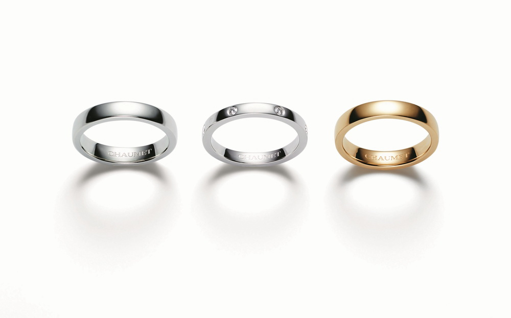 Chaumet Bridal _ 3 Rings