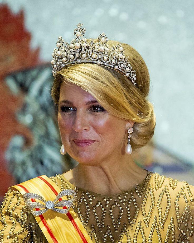 HM Queen Maxima Jewelries