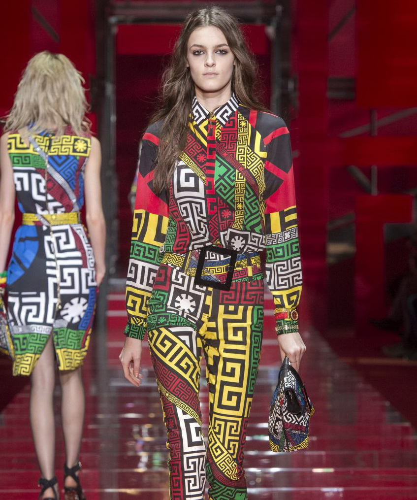 Versace Women's Fall Winte.r '15-'16 Look 22