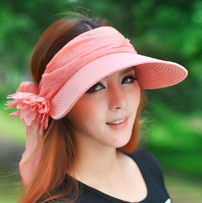 Women-s-Summer-Sun-Hats-Summer-Uv-Protection-Women-s-Cool-Fashion-Sweat-Cute-Hats-Outing
