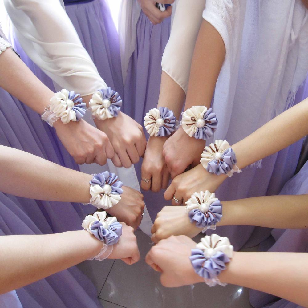 handmade flower corsages