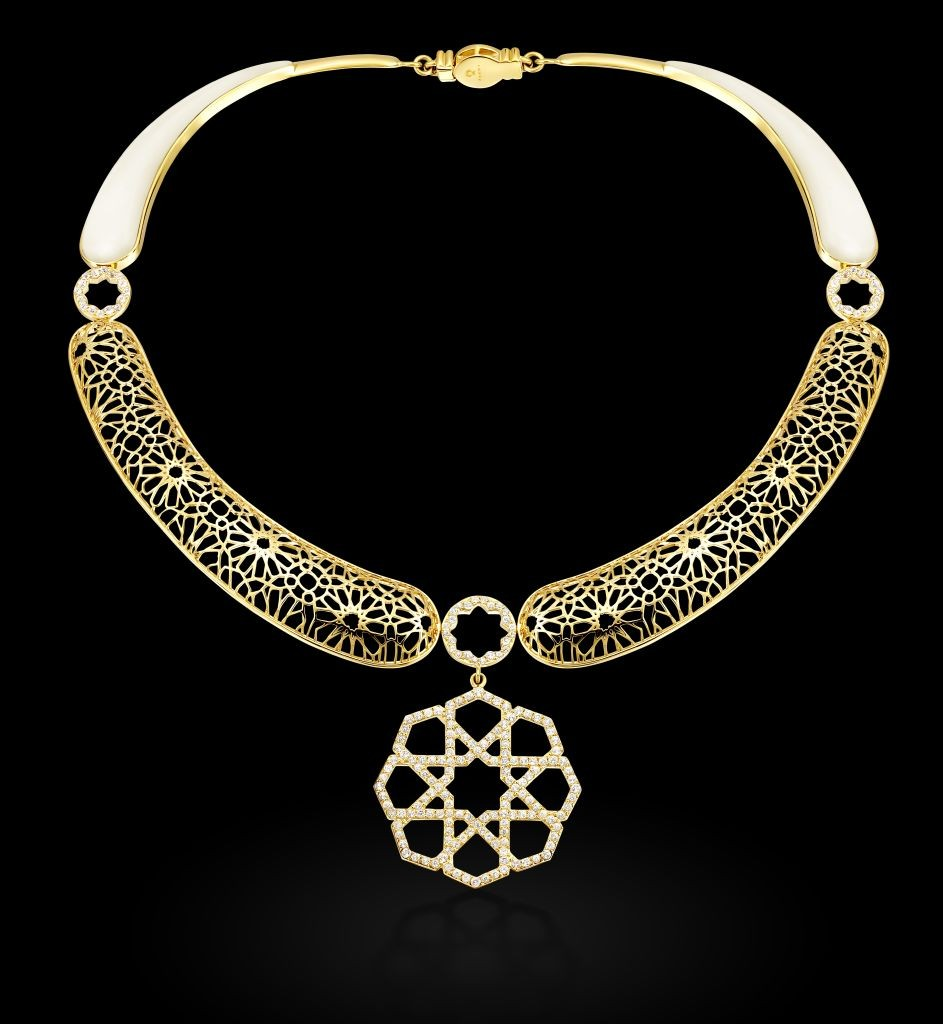 resized_Peace (Mashrabiya) - necklace