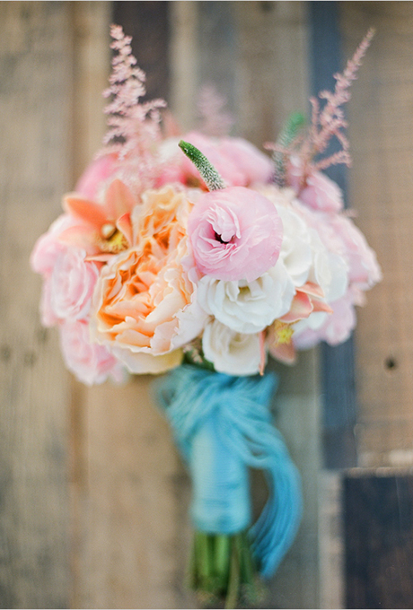wedding-bouquets-hand-tied-wrapped-blue-yarn