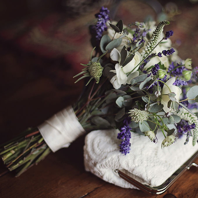 wedding-bouquets-hand-tied-wrapped-ivory-ribbon